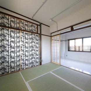東京23区の和風のおしゃれなファミリールームの写真