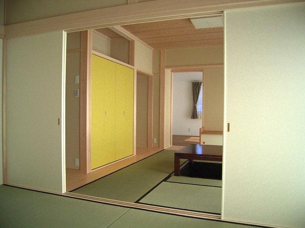 和室・和風 ファミリールーム by ima建築設計室
