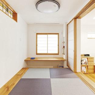 大阪のカントリー風おしゃれなファミリールームの写真