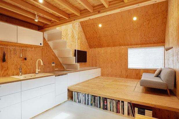 コンテンポラリー ファミリールーム by 株式会社TENHACHI一級建築士事務所