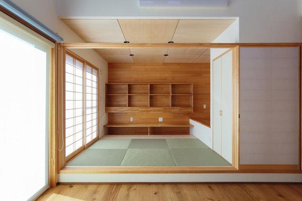 和室・和風 ファミリールーム by 天工舎一級建築士事務所