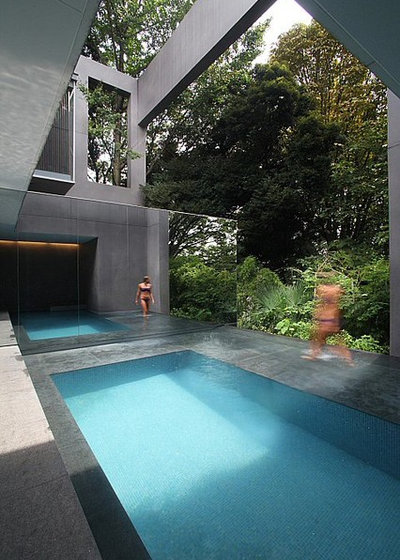 World of design 15 swimming pools with dream views for Pool design books