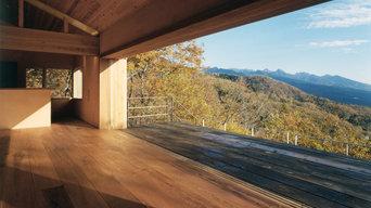 八ヶ岳が一望の週末住宅|蓼科高原の家