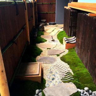 """「浮世の外の道」--""""tiny Japanese tea garden"""" on the balcony--"""