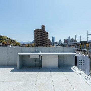 白島のアトリエ/Atelier in Hakushima