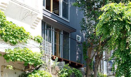 都心の高台にたたずむ、眺めのいい一人暮らしの家