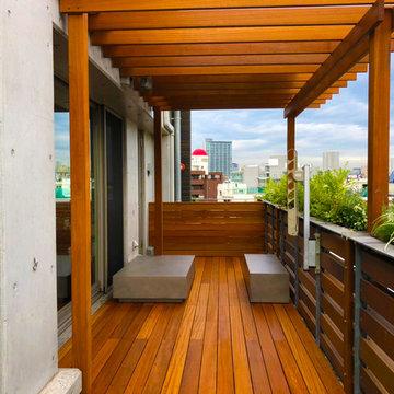 Y Residence's Balcony