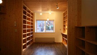 からまつ書庫の家