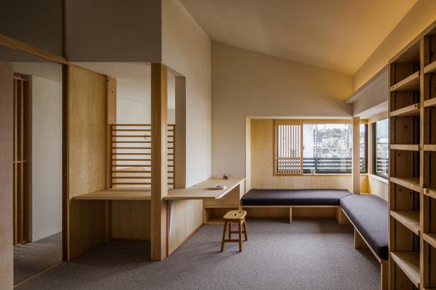 北欧 ホームオフィス・書斎 by 小野育代建築設計事務所