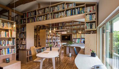 本好きにおすすめ。本棚がデザインに溶け込む家10選