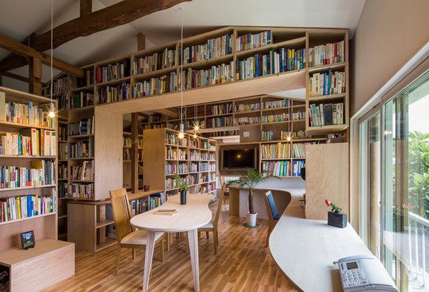 コンテンポラリー 書斎・ホームオフィス by スズケン一級建築士事務所