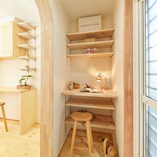 東京都下の北欧スタイルのおしゃれなホームオフィス・書斎の写真