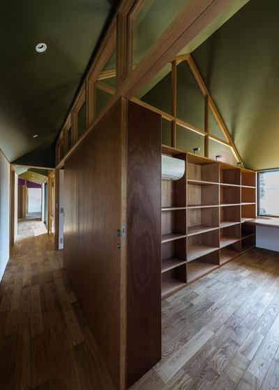 コンテンポラリー ホームオフィス・書斎 by Smart Running 一級建築士事務所