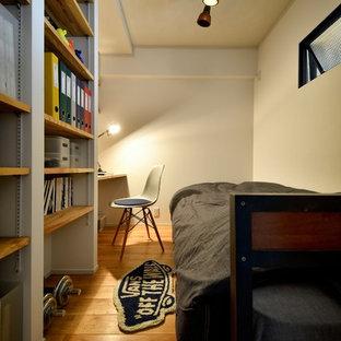 他の地域の北欧スタイルのおしゃれなホームオフィス・書斎の写真