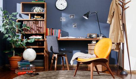 ブルー以外も効果いろいろ、集中できる部屋の色選び