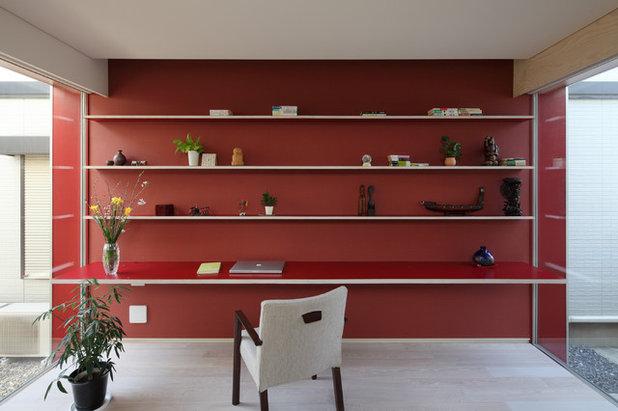 北欧 ホームオフィス・仕事部屋 by 長谷川建築デザインオフィス|HasegawaDesign