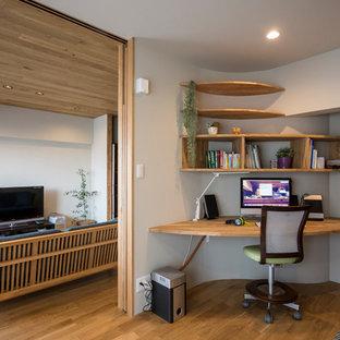 名古屋の北欧スタイルのおしゃれなホームオフィス・仕事部屋の写真