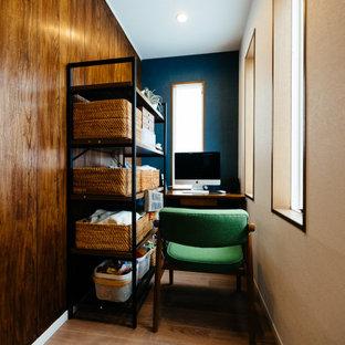 東京23区の北欧スタイルのおしゃれなホームオフィス・書斎の写真