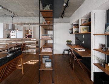 「中古マンション購入+リノベーション」で、こだわりの場所に、好みの間取り&デザインの家を実現 (マンション/apartment)
