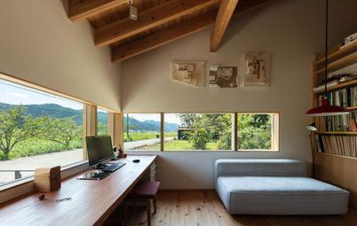 眺めを楽しむ窓辺のホームオフィス16選