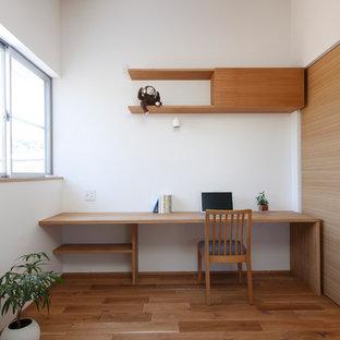 Inspiration pour un bureau asiatique.