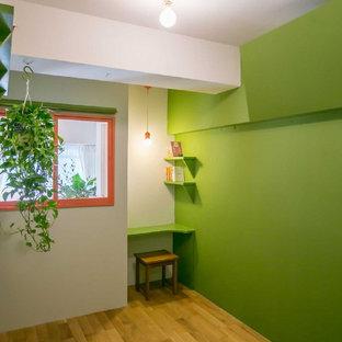 名古屋のアジアンスタイルのおしゃれなホームオフィス・仕事部屋の写真