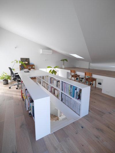 コンテンポラリー 書斎・ホームオフィス by UME architects