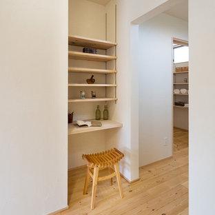 東京都下の北欧スタイルのおしゃれなホームオフィス・仕事部屋の写真