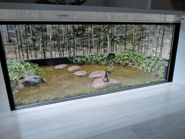 和室・和風 ホームオフィス・書斎 by 庭咲 niwasaki