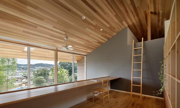 北欧 ホームオフィス・書斎 by コエタロデザインオフィス一級建築士事務所