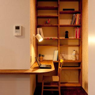 Modern inredning av ett arbetsrum