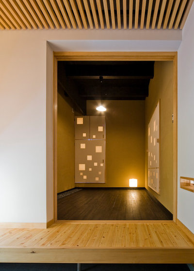 モダン ホームオフィス・仕事部屋 by 丹羽建築設計事務所