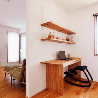 東京23区の和風のおしゃれなホームオフィス・書斎の写真