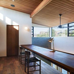 名古屋の北欧スタイルのおしゃれなホームオフィス・書斎の写真