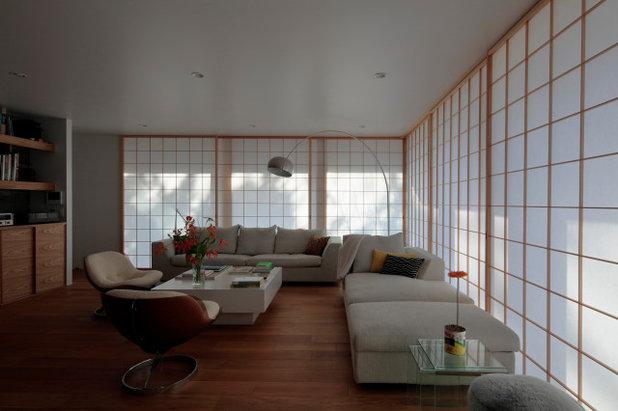 和室・和風 ホームオフィス・書斎 by CUBO design architect