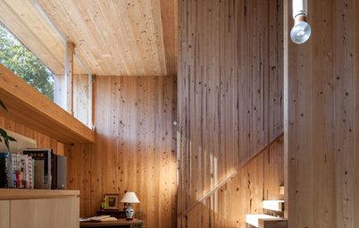 世界のHouzzから:木の豊かな可能性を示すイノベーティブな木造住宅 9選