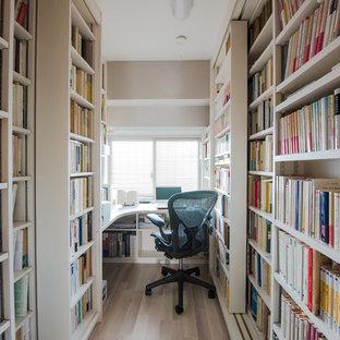 横浜のモダンスタイルのおしゃれなホームオフィス・書斎の写真