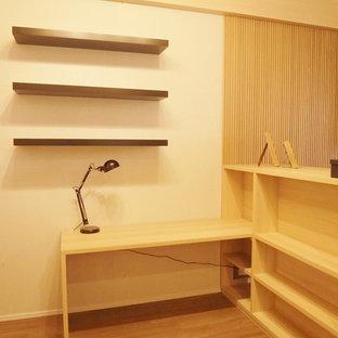 Idée de décoration pour un bureau nordique.