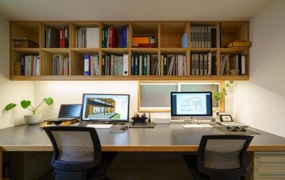 家族で共有する、快適なホームオフィスの事例集