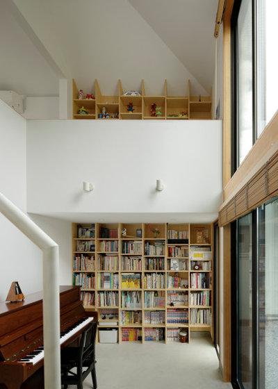 モダン ホームオフィス・書斎 by 木名瀬佳世建築研究室