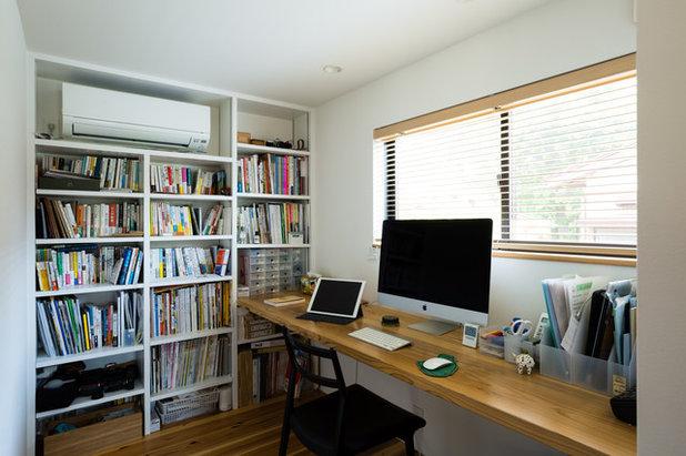 モダン ホームオフィス・書斎 by ツクリト建築設計事務所