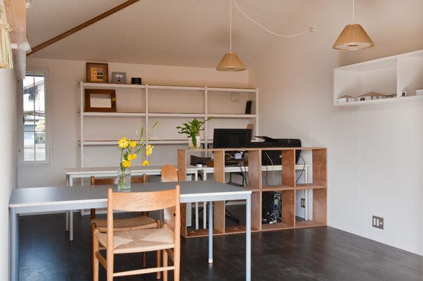 北欧 ホームオフィス・仕事部屋 by 横山浩之建築設計事務所