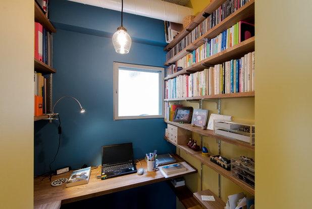 書斎・ホームオフィス by スタジオ桜の木