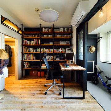 空きスペースを工夫して叶えた ゆったりリビングの家 -就学前に子ども部屋と収納も!-(マンション/apartment)