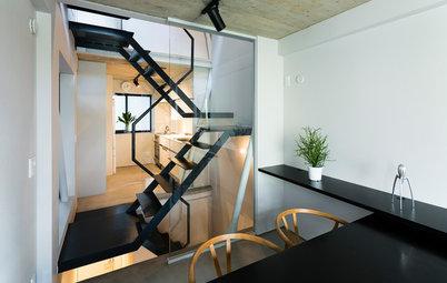 3.3m×9mの狭小地に挑んだ、デザイン力と素材選びが際立つ建築家の自邸