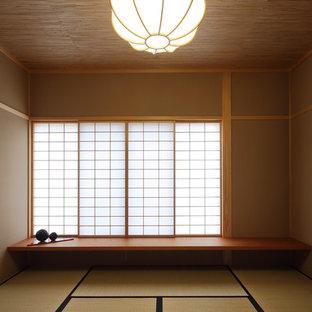 Idéer för funkis arbetsrum, med tatamigolv