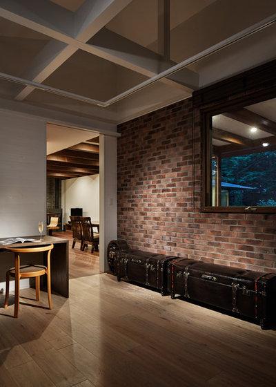 ラスティック ホームオフィス・書斎 by アトリエ137 | atelier137 Architectural Design Office