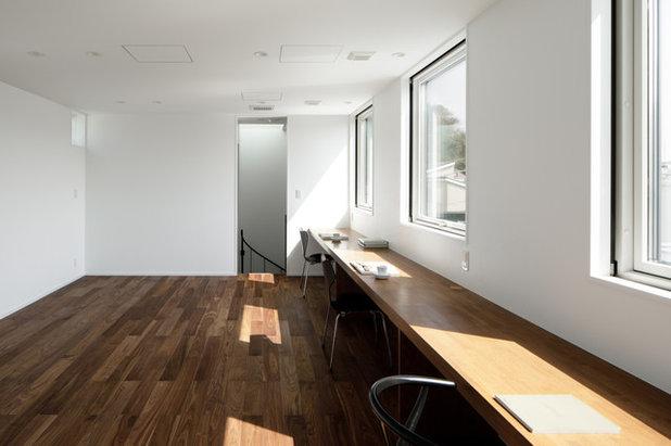 モダン ホームオフィス・書斎 by アトリエ137   atelier137 Architectural Design Office