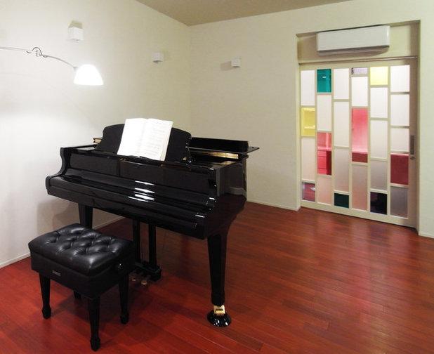 モダン 書斎・ホームオフィス by ユミラ建築設計室