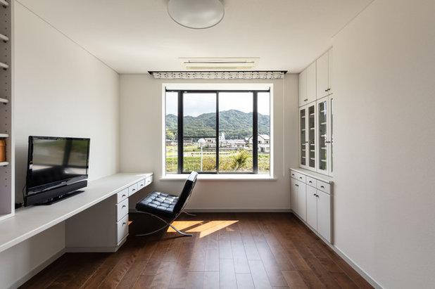 モダン ホームオフィス・書斎 by SQOOL一級建築士事務所